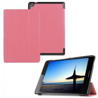 Smartcover Rosa für ASUS ZenPad S 8.0 Z580CA Z580C Hülle Case Tasche Schutz Neu