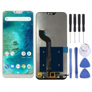 Für Xiaomi Mi A2 Lite Reparatur Display LCD Komplett Einheit Touch Weiß Ersatz