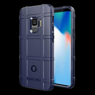 Für Samsung Galaxy S9 Plus G965F Shield Series Outdoor Blau Tasche Hülle Cover