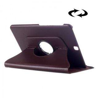 Schutzhülle 360 Grad Braun Tasche für Samsung Galaxy Tab S2 9.7 T810 T815N Hülle