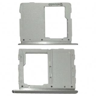 Simkartenhalter für Samsung Galaxy Tab S3 9.7 / T820 Ersatzteil Silber WiFi Neu