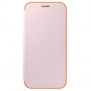 Samsung Neon Flip Cover Hülle EF-FA520PF Galaxy A5 2017 A520F Schutzhülle Pink
