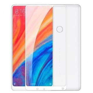 Für Xiaomi MI MIX 2S 3D Premium 0, 3 mm H9 Panzerglas Weiß Folie Schutz Hülle Neu