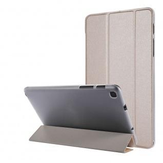 Für Samsung Galaxy Tab A7 Lite 2021 Wake UP Smart Cover Tablet Tasche Gold Etuis