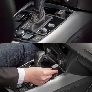 Quick Charge USB Typ C Car KFZ Auto Schnellladegerät 6A für Smartphones Tablets - Vorschau 3