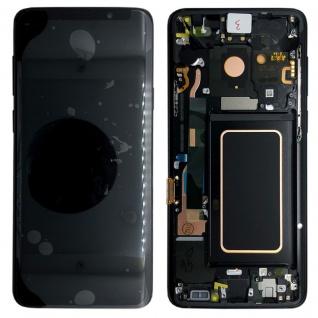 Display Full LCD Komplettset GH97-21696A Schwarz für Samsung Galaxy S9 G960F FD