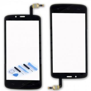 Touchscreen Display Glas für Reparatur Huawei Honor Holly Flex Kabel Schwarz Neu