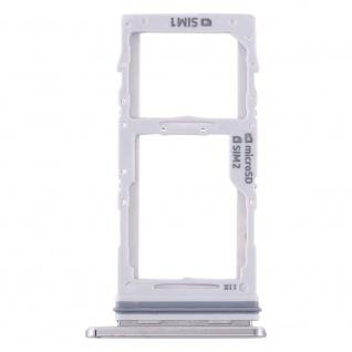 Dual Sim / Micro SD Karten Halter für Samsung Galaxy Note 10 Plus Grau