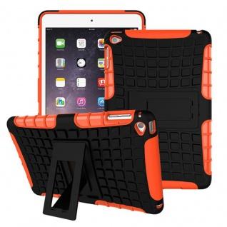 Für Apple iPad 9.7 2018 Hybrid Outdoor Schutzhülle Case Orange Tasche Cover Etui