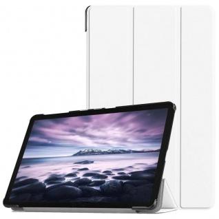 Smart Cover Weiß Tasche für Samsung Galaxy Tab A 10.5 T590 T595 Hülle Wake Up