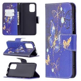 Für Xiaomi Redmi Note 10 4G / 10s Kunst-Leder Handy Tasche Motiv 7 Hülle Etuis