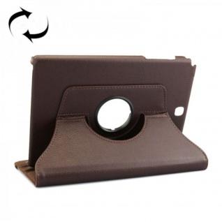 Schutzhülle 360 Grad Braun Tasche für Samsung Tab A 9.7 T555 T555N T550 Hülle