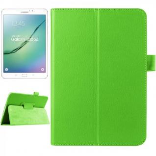 Schutzhülle Grün Tasche für Samsung Galaxy Tab S2 8.0 SM T710 T715N Hülle Case