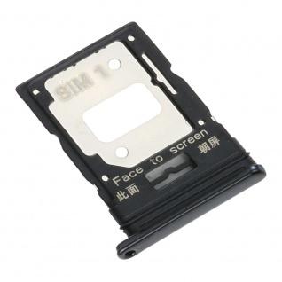 Dual Sim Card Micro SD Tray für Xiaomi Mi 11 Lite Schwarz Karten Halter