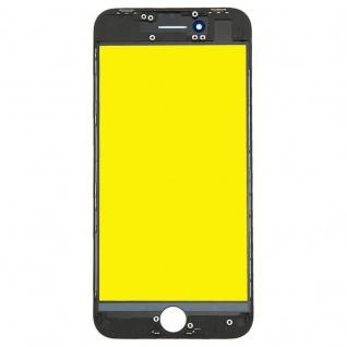 Display Glas für Apple iPhone 8 4.7 LCD Displayglas + Rahmen + OCA Kleber Black - Vorschau 2