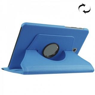 Schutzhülle 360 Grad Hell Blau Tasche für Samsung Galaxy Tab S2 8.0 T710 T715N