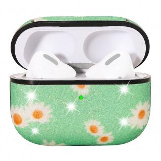 Apple Airpods Pro Cover Ring Grün Schutzhülle Cover Tasche Case Etui Halter - Vorschau 4
