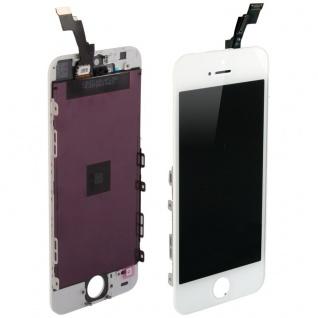 Display LCD Komplett Einheit Touch Panel für Apple iPhone 5S Weiß Glas Ersatz - Vorschau 4