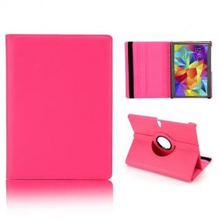 Schutzhülle 360 Grad Pink Tasche für Samsung Galaxy Tab S 10.5 T800 Zubehör Neu