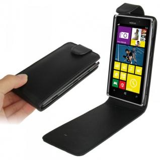 Fliptasche für Nokia Lumia 925 Case Cover Etui Schale Kappe Tasche Hülle + Folie