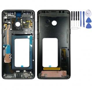 Mittelrahmen Rahmen Gehäuse für Samsung Galaxy S9 Plus G965 G965F Schwarz Top