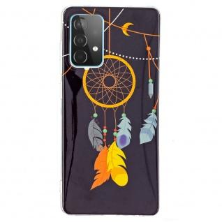 Für Samsung Galaxy A52 Silikon Case TPU Motiv Traumfänger Schutz Hülle Cover Etuis