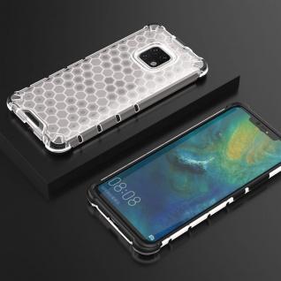 Für Huawei Mate 20 Pro Schock Hybrid Silikon TPU Transparent Tasche Hülle Etuis