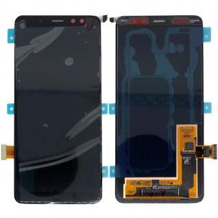 Samsung Display LCD Kompletteinheit für Galaxy A8 A530F 2018 GH97-21406A Schwarz
