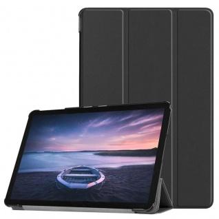 Smart Cover Schwarz Tasche für Samsung Galaxy Tab S4 10.5 T830 T835 Hülle WakeUp