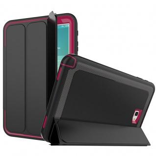 Hybrid Outdoor Schutzhülle Pink für Samsung Galaxy Tab A 10.1 T580 Tasche Cover