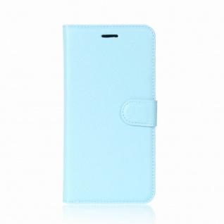 Tasche Wallet Premium Blau für Huawei P20 Hülle Case Cover Schutz Etui Schale - Vorschau 2