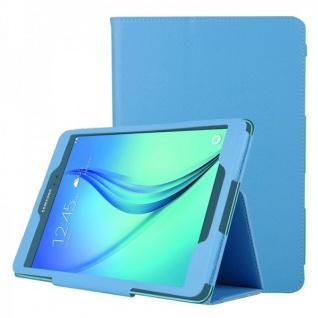 Schutzhülle Hellblau Tasche für Samsung Galaxy Tab A 9.7 T555N T550 Hülle Case
