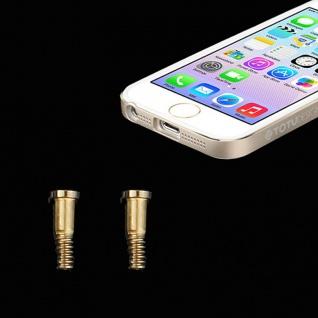 Pentalobe Torx Gehäuse Schrauben für Apple iPhone 5 5s Backcover 2 Stück Gold