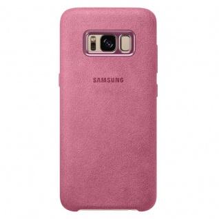 Samsung Alcantara Cover Schutzhülle EF-XG950AP für Galaxy S8 G950F Hülle Pink