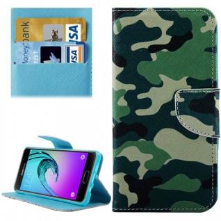 Schutzhülle Muster 77 für Samsung Galaxy A5 2016 A510F Tasche Cover Case Hülle