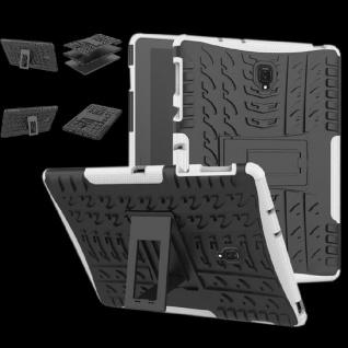 Hybrid Outdoor Schutz Hülle Weiß für Samsung Galaxy Tab A 10.5 T590 Tasche Case