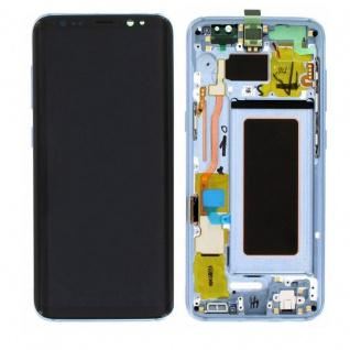 Display Full LCD Komplettset GH97-20457D Blau für Samsung Galaxy S8 G950 G950F