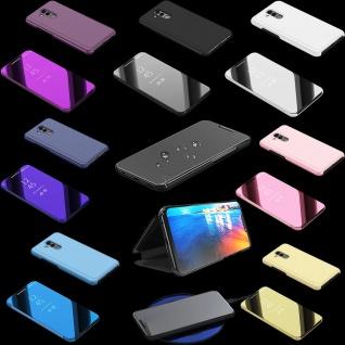 Clear View Spiegel Mirror Smart Cover für Smartphones Schutzhülle Tasche Hülle
