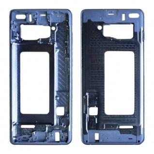 Mittelrahmen Rahmen Gehäuse für Samsung Galaxy S10 Plus G975F Blau Ersatzteil