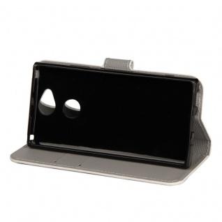 Tasche Wallet Book Cover Motiv 21 für Sony Xperia XA2 Hülle Case Etui Schutz Neu - Vorschau 2