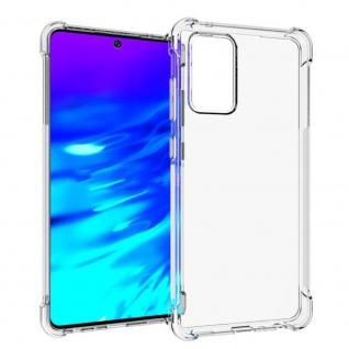 Für Samsung Galaxy A72 Handy Tasche Transparent Schock Hülle Etuis Cover Neu
