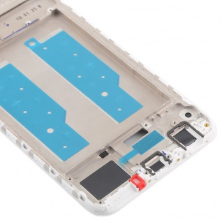 Gehäuse Rahmen Mittelrahmen Deckel für Huawei Y7 2018 Weiß Reparatur Ersatz Neu - Vorschau 5