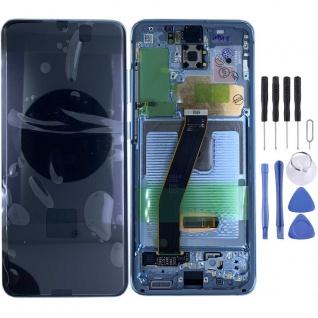 Samsung Display Ersatz LCD Komplett für Galaxy S20 G981F 5G GH82-22123D Blau Neu