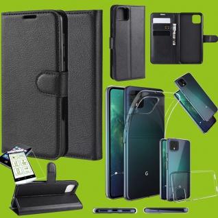 Für Google Pixel 4 / Pixel 4 XL Tasche Etuis Silikon Hülle H9 Hart Glas Schutz