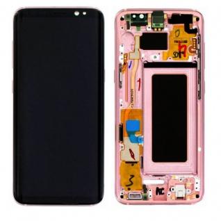 Samsung Display LCD Komplettset GH97-20457E Pink für Galaxy S8 G950 G950F Neu