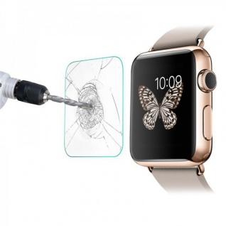 Premium 0, 2 mm H9 Panzerglasfolie Schock Folie für Apple Smart Watch ( 42 mm )