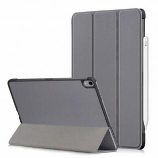 Smartcover Grau Tasche Wake UP Hülle Case für Apple iPad Pro 11.0 Zoll 2018 Neu