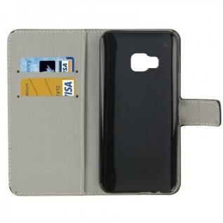 Schutzhülle Muster 4 für HTC One 3 M9 2015 Tasche Cover Case Hülle Etui Schutz - Vorschau 2