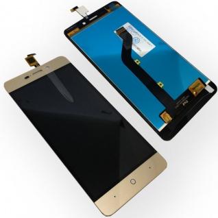 Ersatz Display LCD Komplett Einheit für ZTE Blade A452 Reparatur Gold Ersatz Neu