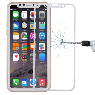 Premium 0, 3 mm H9 Hartglas Transparent Folie für Apple iPhone X / XS